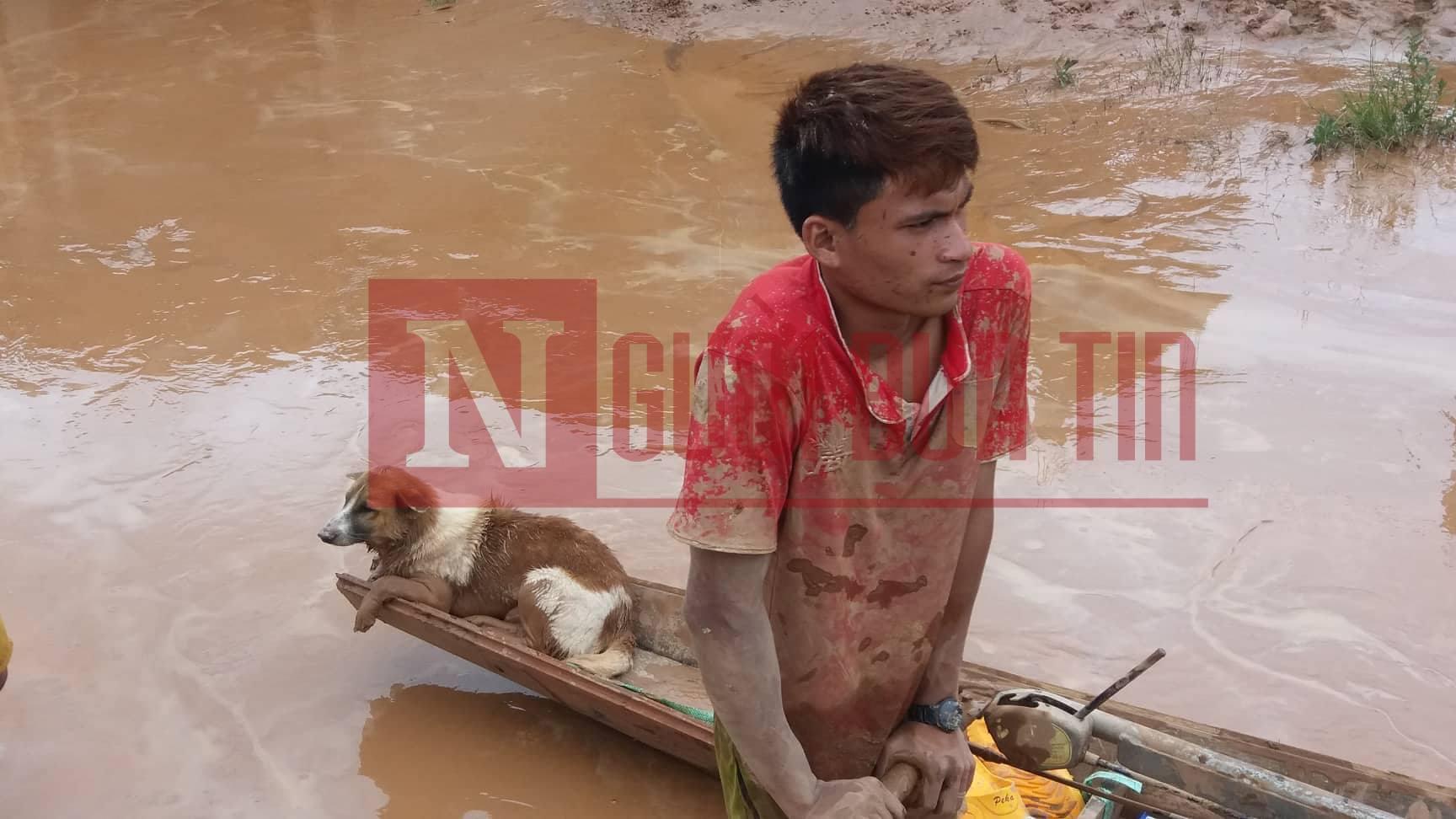 Vỡ đập thủy điện Lào: Cận cảnh công tác cứu hộ tại nơi cơn lũ vừa càn quét - Ảnh 6