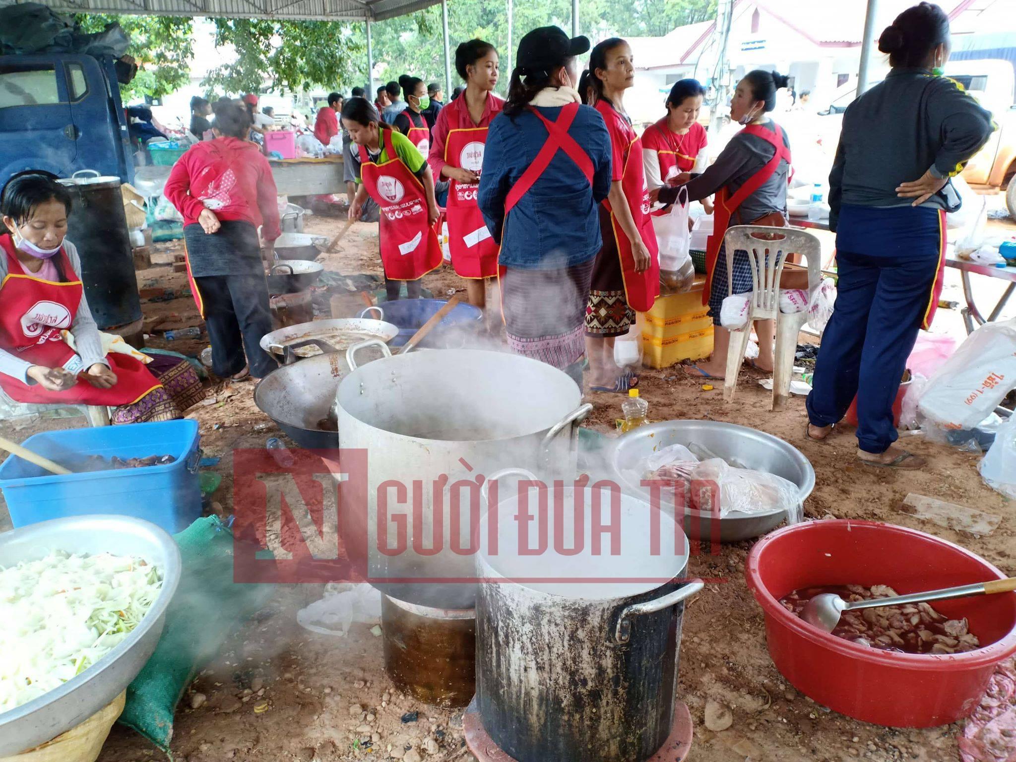 Vỡ đập thủy điện Lào: Cận cảnh công tác cứu hộ tại nơi cơn lũ vừa càn quét - Ảnh 12