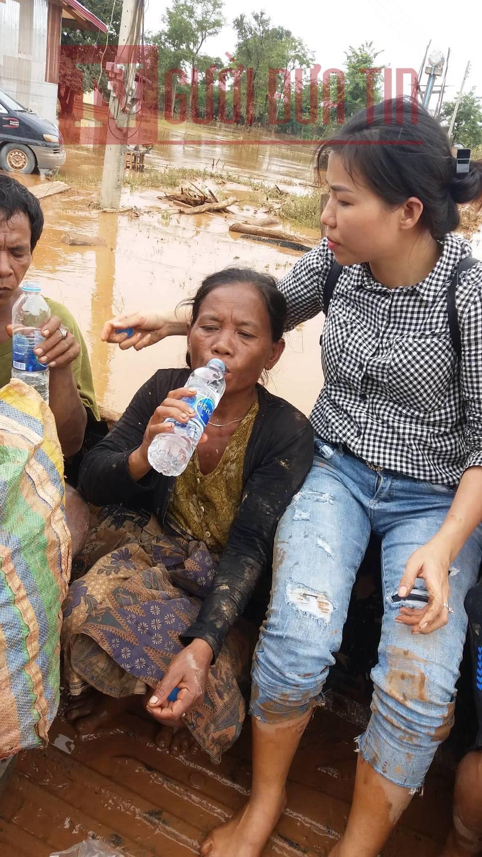 Vỡ đập thủy điện Lào: Cận cảnh công tác cứu hộ tại nơi cơn lũ vừa càn quét - Ảnh 5