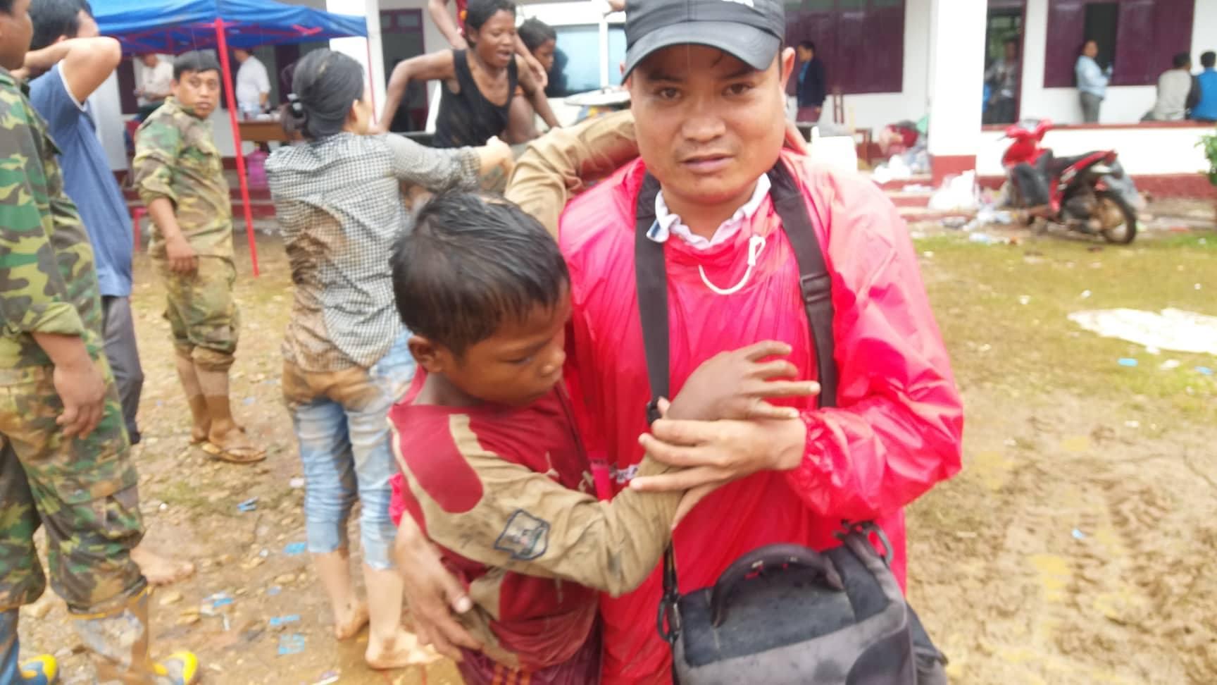 Vỡ đập thủy điện Lào: Cận cảnh công tác cứu hộ tại nơi cơn lũ vừa càn quét - Ảnh 9
