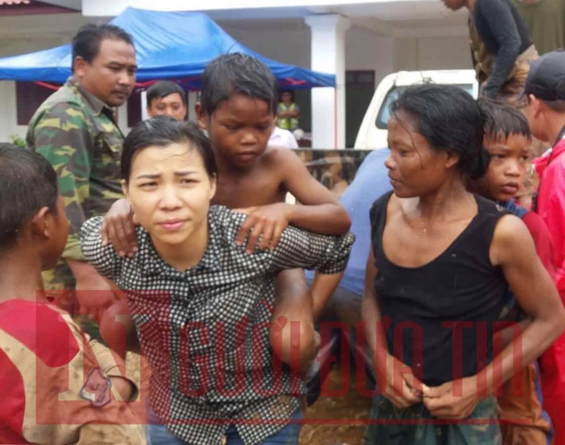 Vỡ đập thủy điện Lào: Cận cảnh công tác cứu hộ tại nơi cơn lũ vừa càn quét - Ảnh 8
