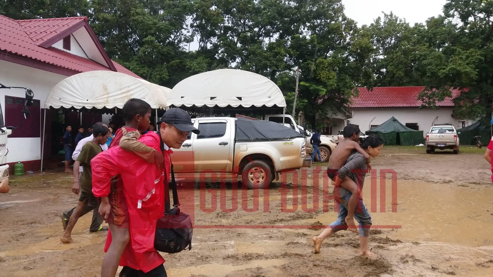 Vỡ đập thủy điện Lào: Cận cảnh công tác cứu hộ tại nơi cơn lũ vừa càn quét - Ảnh 11