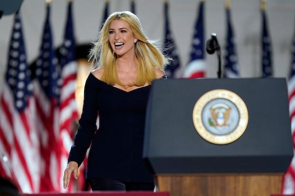 Ivanka Trump sẽ tranh cử cùng cha, trở thành ứng viên phó tổng thống năm 2024?