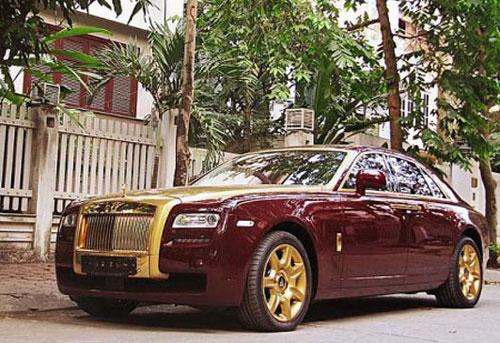 Những biệt thự, siêu xe dát vàng đắt đỏ bậc nhất Việt Nam - Ảnh 10