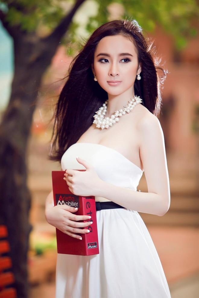 Angela Phương Trinh xinh tươi đón Xuân - Ảnh 1