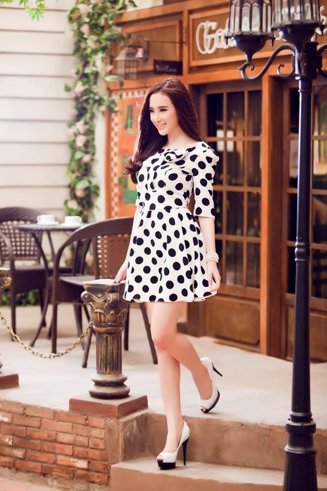 Angela Phương Trinh xinh tươi đón Xuân - Ảnh 3