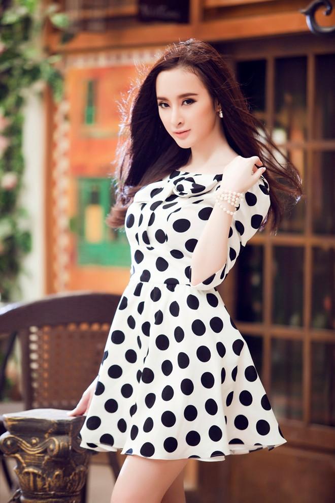 Angela Phương Trinh xinh tươi đón Xuân - Ảnh 4