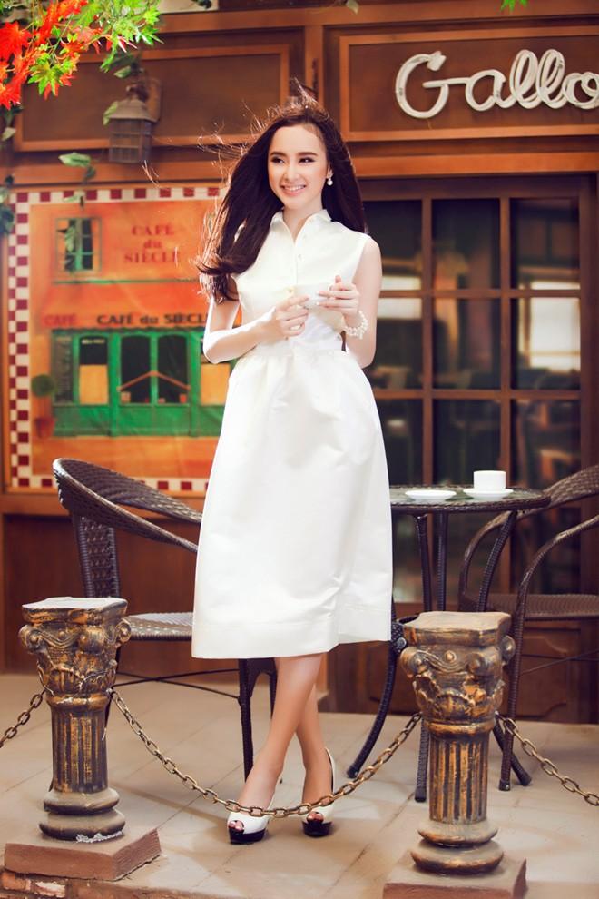Angela Phương Trinh xinh tươi đón Xuân - Ảnh 7