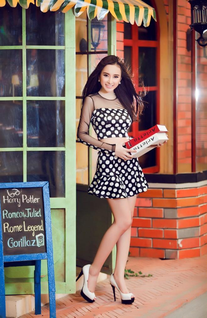 Angela Phương Trinh xinh tươi đón Xuân - Ảnh 8