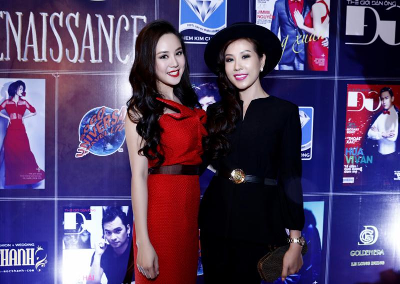 Hoa hậu Thu Hoài, Phương Thanh chuẩn men dự tiệc  - Ảnh 2