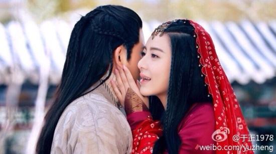 """Dương Quá hôn Tiểu Long Nữ say đắm trong """"Tân thần điêu đại hiệp""""  - Ảnh 10"""