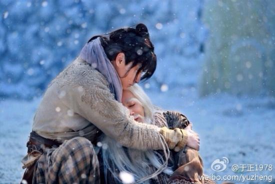 """Dương Quá hôn Tiểu Long Nữ say đắm trong """"Tân thần điêu đại hiệp""""  - Ảnh 12"""