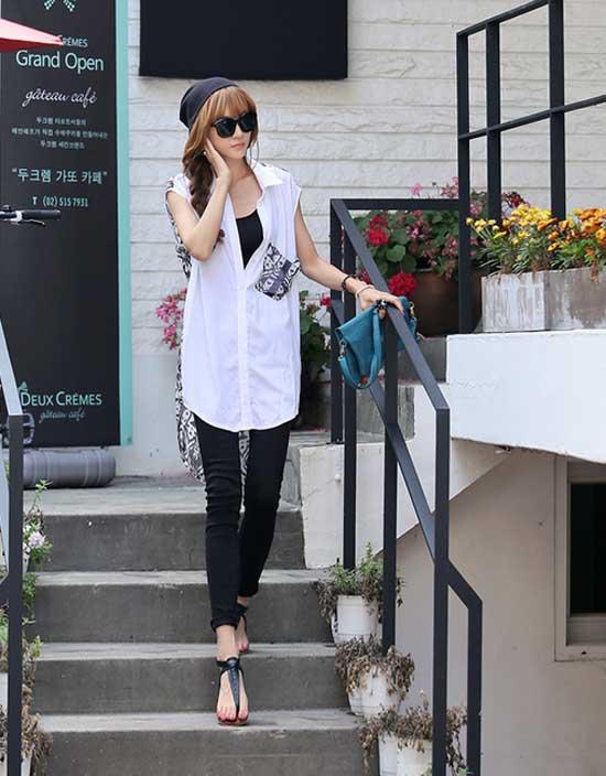 Học cách mix đồ đơn giản mà đẹp với quần jean skinny - Ảnh 12