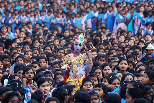 Lễ hội Holi: Cuộc chiến của những sắc màu ở Ấn Độ - Ảnh 12