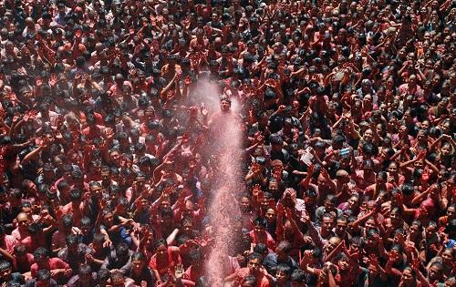 Lễ hội Holi: Cuộc chiến của những sắc màu ở Ấn Độ - Ảnh 3