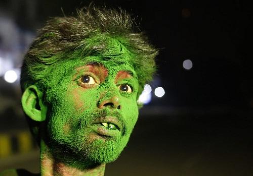 Lễ hội Holi: Cuộc chiến của những sắc màu ở Ấn Độ - Ảnh 4