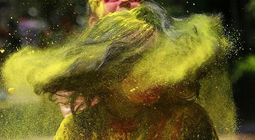 Lễ hội Holi: Cuộc chiến của những sắc màu ở Ấn Độ - Ảnh 7