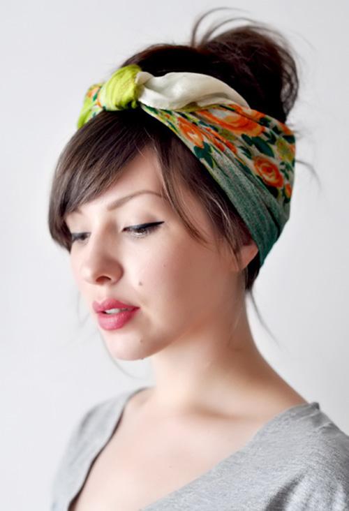 Biến tấu thành các kiểu tóc cá tính với khăn turban chào Hè - Ảnh 1