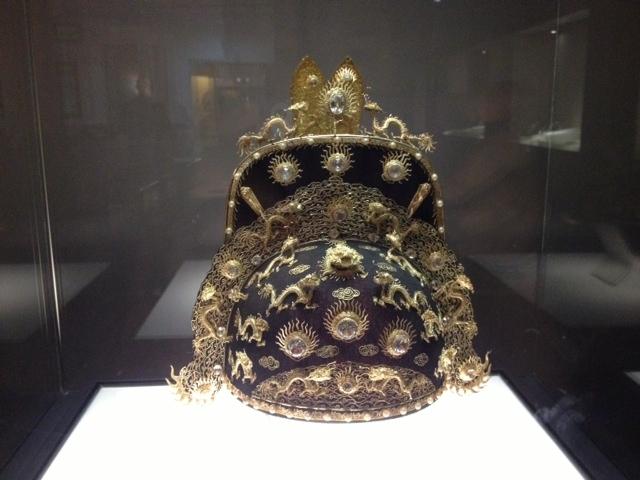 Lần đầu tiết lộ bí mật về chiếc mũ thiết triều vua nhà Nguyễn - Ảnh 3
