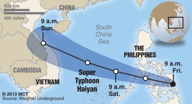 Cận cảnh siêu bão Haiyan tàn phá Philippines với sức gió 230km/h - Ảnh 10
