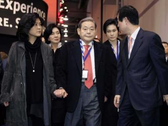 Những người thừa kế quyền lực của Tập đoàn Samsung - Ảnh 1
