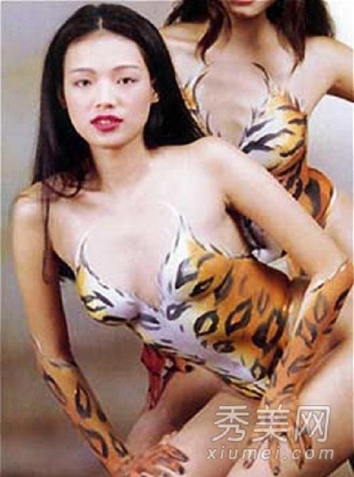 Body painting: Chiêu đánh bóng tên tuổi mới của các ngôi sao - Ảnh 4