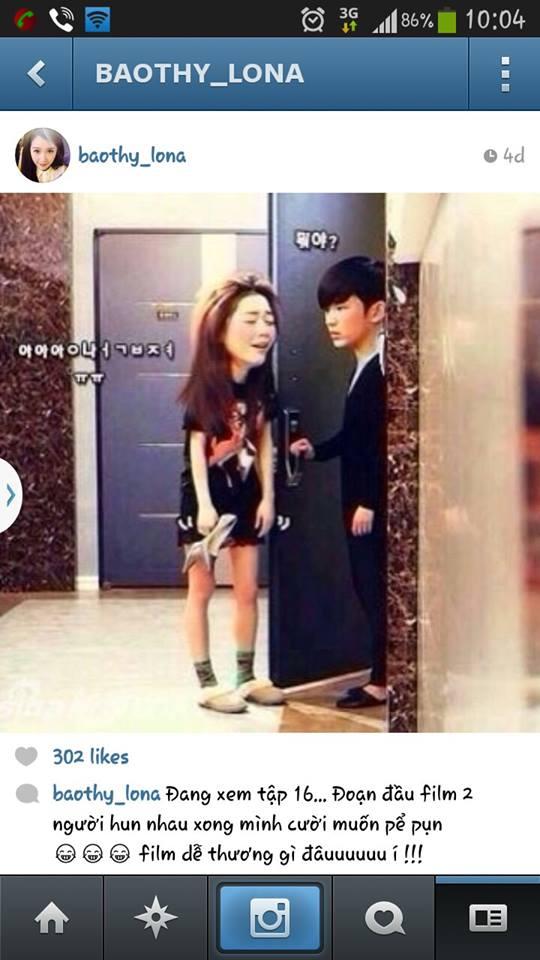 """Bảo Thy """"phát cuồng"""" Kim Soo Hyun """"Vì sao đưa anh tới"""" - Ảnh 3"""