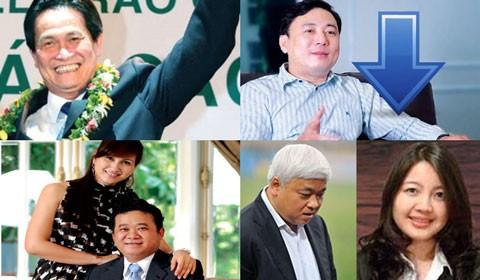 Bốn đại gia đen đủi trong top 10 tỷ phú Việt - Ảnh 1