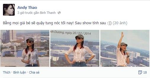 Facebook sao 24h: Xuân Lan hãnh diện về Hoàng Thùy - Ảnh 3