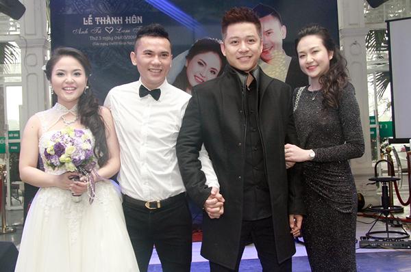 """Bằng Kiều """"cặp kè"""" Dương Mỹ Linh dự đám cưới """"tập 3"""" của Tú Dưa - Ảnh 5"""