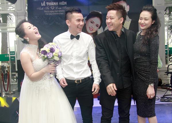 """Bằng Kiều """"cặp kè"""" Dương Mỹ Linh dự đám cưới """"tập 3"""" của Tú Dưa - Ảnh 6"""