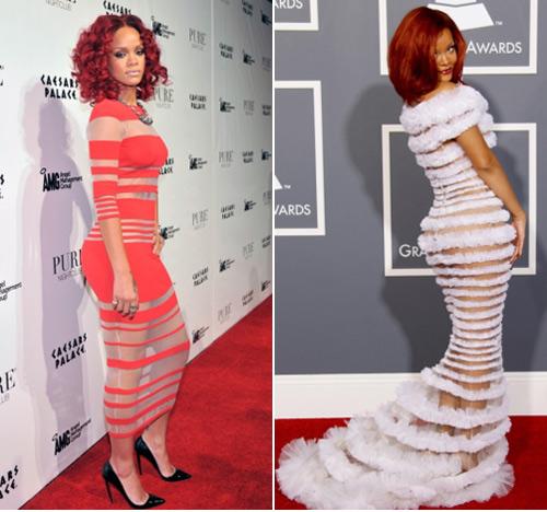 Những hình ảnh gây nhức mắt của Rihanna - Ảnh 12