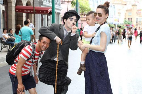 """Chồng Hà Hồ khoe ảnh gia đình hạnh phúc """"đập tan"""" tin đồn ly hôn - Ảnh 6"""