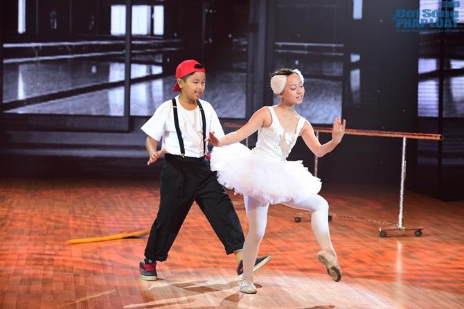 Bước nhảy hoàn vũ nhí tập 2 vòng đối đầu: GK ngả mũ vì thí sinh - Ảnh 2