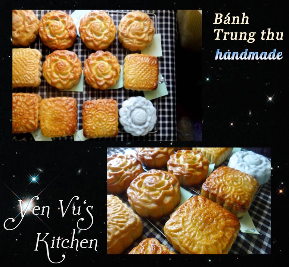Hot girl ngọt ngào làm bánh Trung thu handmade - Ảnh 2