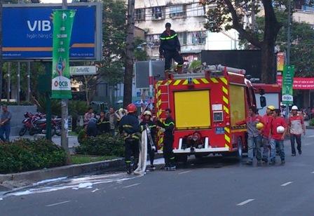 Tp.Hồ Chí Minh: Cháy khách sạn 5 sao Pullman Saigon - Ảnh 3