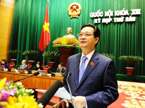 Thủ tướng Nguyễn Tấn Dũng: Tham nhũng vẫn còn nghiêm trọng - Ảnh 1