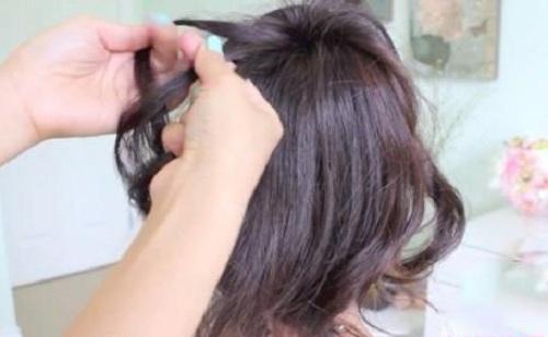 Những kiểu búi tóc mới lạ cho chị em đêm Valentine - Ảnh 7