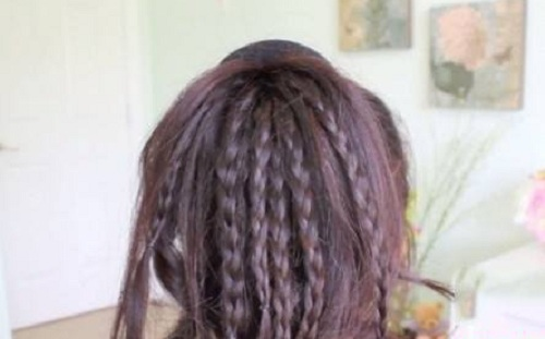 Những kiểu búi tóc mới lạ cho chị em đêm Valentine - Ảnh 8