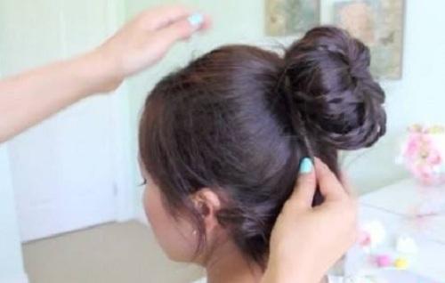 Những kiểu búi tóc mới lạ cho chị em đêm Valentine - Ảnh 12