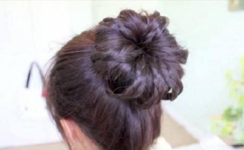 Những kiểu búi tóc mới lạ cho chị em đêm Valentine - Ảnh 13