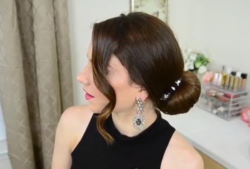 Những kiểu búi tóc mới lạ cho chị em đêm Valentine - Ảnh 2