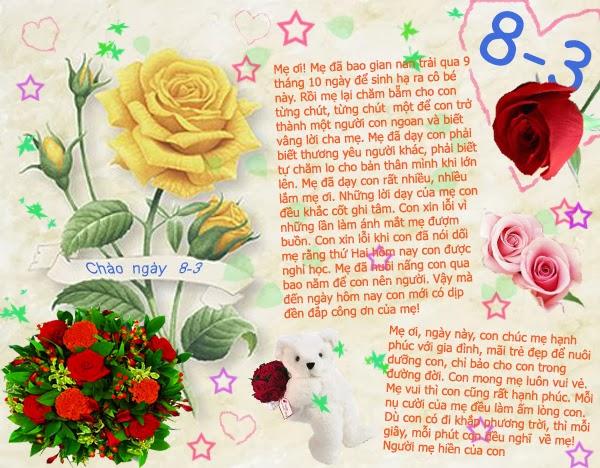 Những lời chúc hay dành tặng bà, mẹ và chị trong ngày 8/3 - Ảnh 2