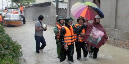 Nghệ An: Hoàn lưu bão làm 3 người chết, 2 người mất tích - Ảnh 1