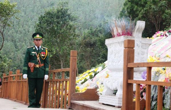 30 chiến sĩ tự hào canh giữ giấc ngủ cho Đại tướng - Ảnh 6