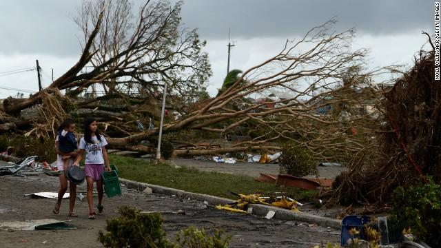 1.200 người dân Philippines có thể đã thiệt mang do bão Haiyan - Ảnh 3