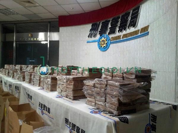 Hình ảnh mới nhất 600 bánh heroin trên đất Đài Loan - Ảnh 9