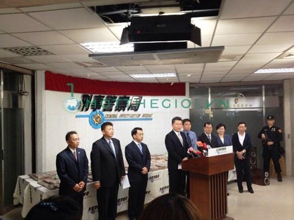 Hình ảnh mới nhất 600 bánh heroin trên đất Đài Loan - Ảnh 3