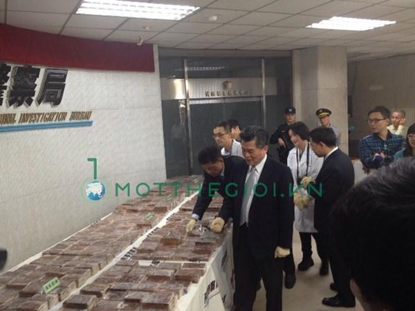 Hình ảnh mới nhất 600 bánh heroin trên đất Đài Loan - Ảnh 4
