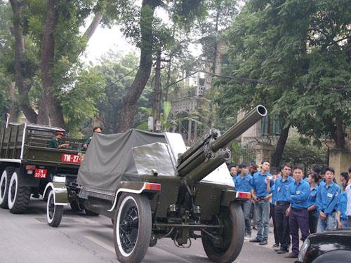 Cận cảnh tổng diễn tập Lễ Quốc tang Đại tướng Võ Nguyên Giáp - Ảnh 2